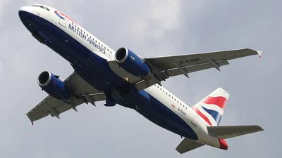 G-EUUK - Airbus A320-232 - British Airways