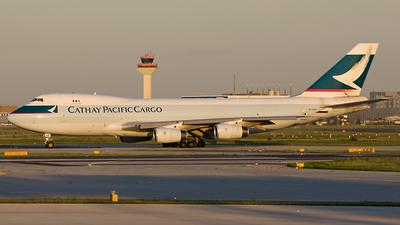 B-HUQ - Boeing 747-467F(SCD) - Cathay Pacific Cargo