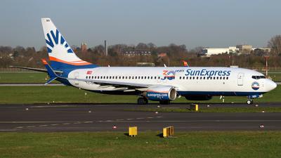 A picture of TCSNN - Boeing 7378HC - SunExpress - © Darius Swoboda