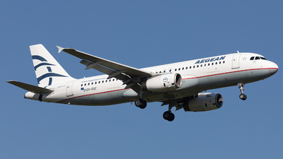 A picture of SXDGC - Airbus A320232 - Aegean Airlines - © PM