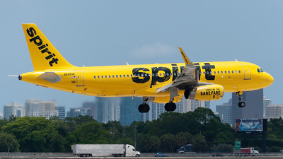 A picture of N645NK - Airbus A320232 - Spirit Airlines - © Mark Lawrence