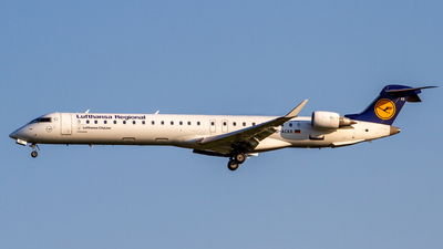 D-ACKK - Bombardier CRJ-900LR - Lufthansa Regional (CityLine)