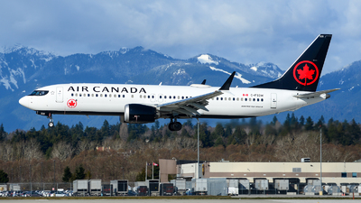 A picture of CFSDW - Boeing 737 MAX 8 - Air Canada - © Chung Kwok