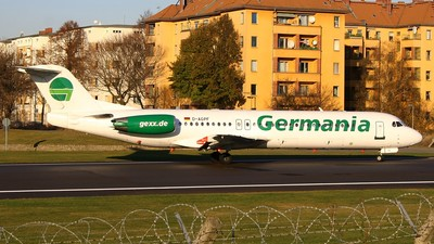 D-AGPF - Fokker 100 - Germania