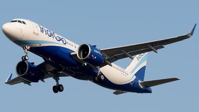 A picture of VTIZG - Airbus A320271N - IndiGo - © Shrey Chopra