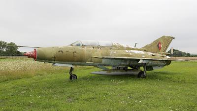 289 - Mikoyan-Gurevich MiG-21U-600 Mongol - German Democratic Republic - Air Force