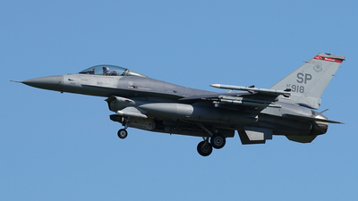 92-3918 - Lockheed Martin F-16CJ Fighting Falcon - United States - US Air Force (USAF)