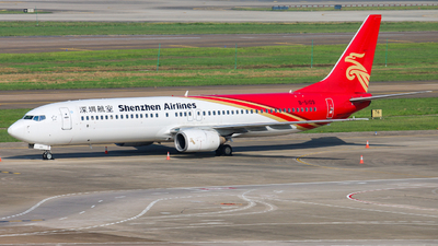 A picture of B5109 - Boeing 73797L - Shenzhen Airlines - © libohang