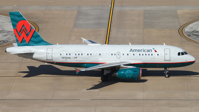 N838AW - Airbus A319-132 - American Airlines