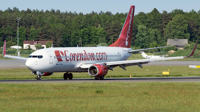 A picture of TCTJP - Boeing 7378BK - Corendon Airlines - © Filip Danielczyk