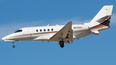 N520QS - Cessna Citation Latitude - NetJets Aviation