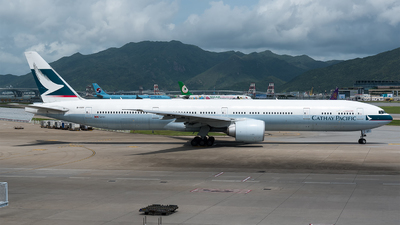 B-KQV - Boeing 777-367ER - Cathay Pacific Airways