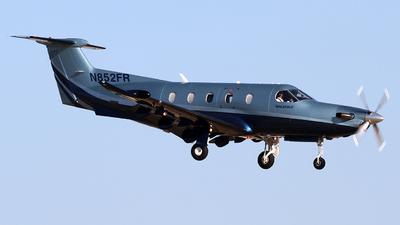 N852FR - Pilatus PC-12/47 - Private