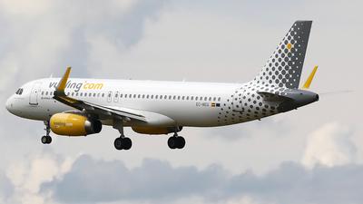 A picture of ECMEQ - Airbus A320232 - Vueling - © Nigel Fenwick