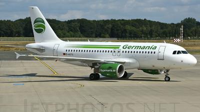 D-ASTU - Airbus A319-112 - Germania