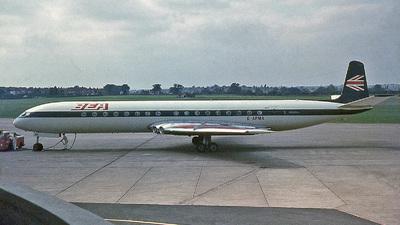 G-APMA - De Havilland DH-106 Comet 4B - British European Airways (BEA)