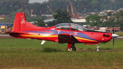 M50-21 - Pilatus PC-7 Mk.II - Malaysia - Air Force