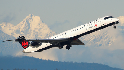 A picture of CFKJZ - Mitsubishi CRJ900LR - Air Canada - © Luft Spotter