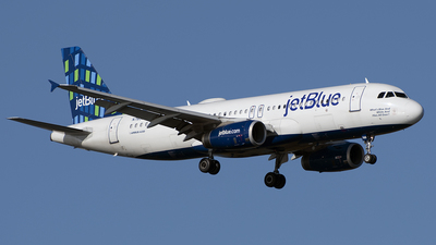 N789JB - Airbus A320-232 - jetBlue Airways