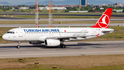 TC-JPM - Airbus A320-232 - Turkish Airlines