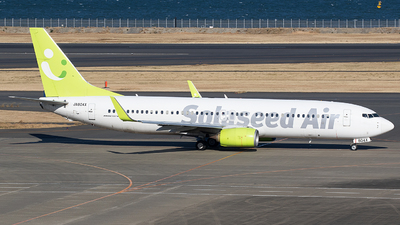 A picture of JA804X - Boeing 73786N - Solaseed Air - © BennyH