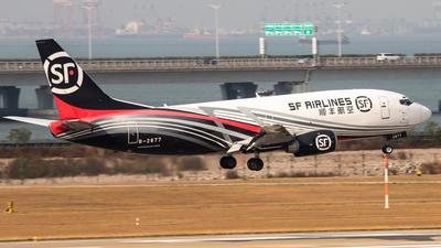 B-2877 - Boeing 737-33V - SF Airlines