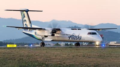 A picture of N439QX - De Havilland Canada Dash 8400 - Alaska Airlines - © SpotterPowwwiii