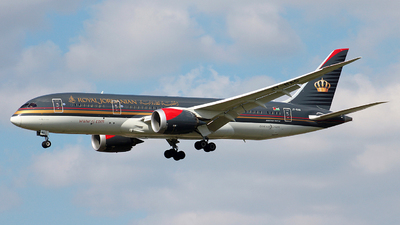 JY-BAG - Boeing 787-8 Dreamliner - Royal Jordanian