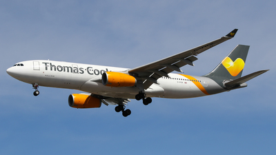 G-VYGK - Airbus A330-243 - Thomas Cook Airlines