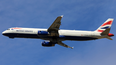 G-EUXE - Airbus A321-231 - British Airways