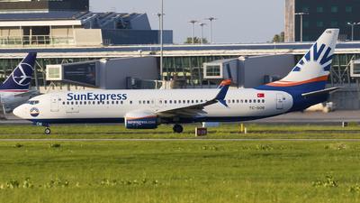 A picture of TCSOB - Boeing 7378HC - SunExpress - © Rafal Pruszkowski