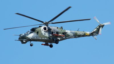 3362 - Mil Mi-35M Hind - Czech Republic - Air Force