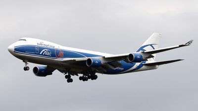 VQ-BUU - Boeing 747-4EVERF - Air Bridge Cargo