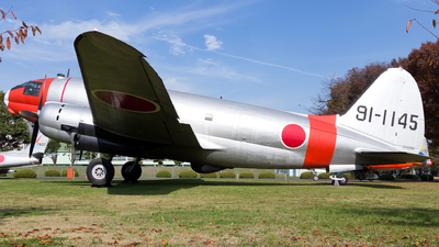 91-1145 - Curtiss C-46 Commando - Japan - Air Self Defence Force (JASDF)