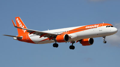 A picture of GUZMF - Airbus A321251NX - easyJet - © Alfonso Solis