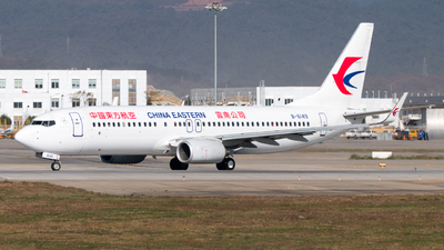 A picture of B6149 - Boeing 73789P - China Eastern Airlines - © LingFeng