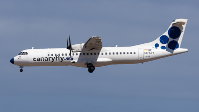A picture of ECKRY - ATR 72500 - CanaryFly - © Marcel Hohl