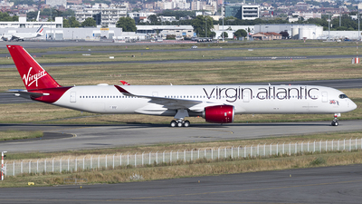 F-WZNY - Airbus A350-1041 - Virgin Atlantic Airways