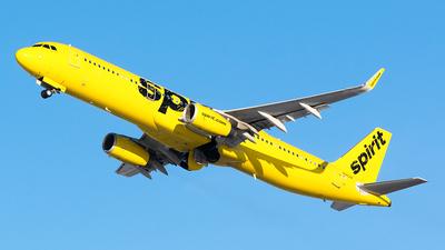N680NK - Airbus A321-231 - Spirit Airlines