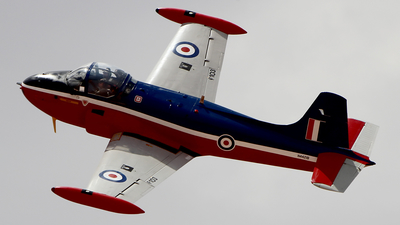 N4421B - Hunting Percival Jet Provost T.3A - Western Sky Aviation Warbird Museum