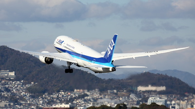 A picture of JA804A - Boeing 7878 Dreamliner - All Nippon Airways - © Tokubee