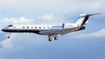 N576GA - Gulfstream G550 - Private