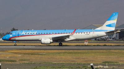 LV-CHQ - Embraer 190-100IGW - Austral Líneas Aéreas