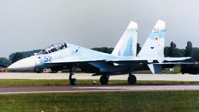 52 - Sukhoi Su-30SM - Russia - Air Force