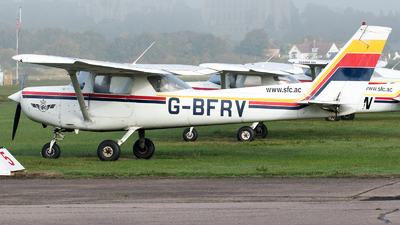 G-BFRV - Reims-Cessna FA152 Aerobat - Sussex Flying Club