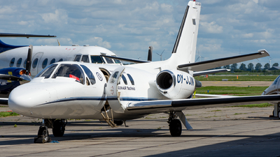 A picture of OYJJN - Cessna 501 Citation I SP - SunAir - © Dutch
