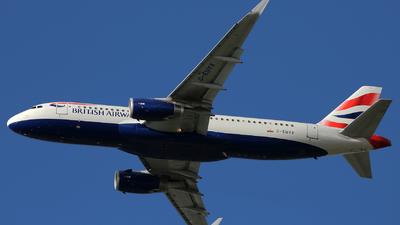 G-EUYX - Airbus A320-232 - British Airways