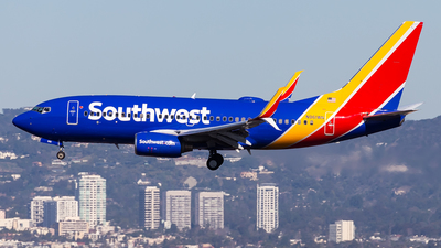 A picture of N961WN - Boeing 7377H4 - Southwest Airlines - © Brandon Giacomin