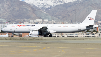 EP-ZGB - Airbus A321-231 - Zagros Airlines