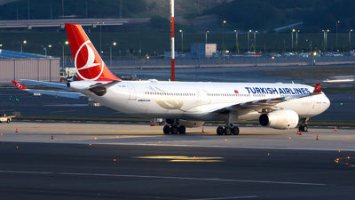A picture of TCJNJ - Airbus A330343 - Turkish Airlines - © MBekir CKMK